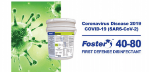 First Defense Disinfectant Available - Industrial Sales and Bulk Distribution